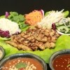 Lettuce Wraps with Dipping Sauces