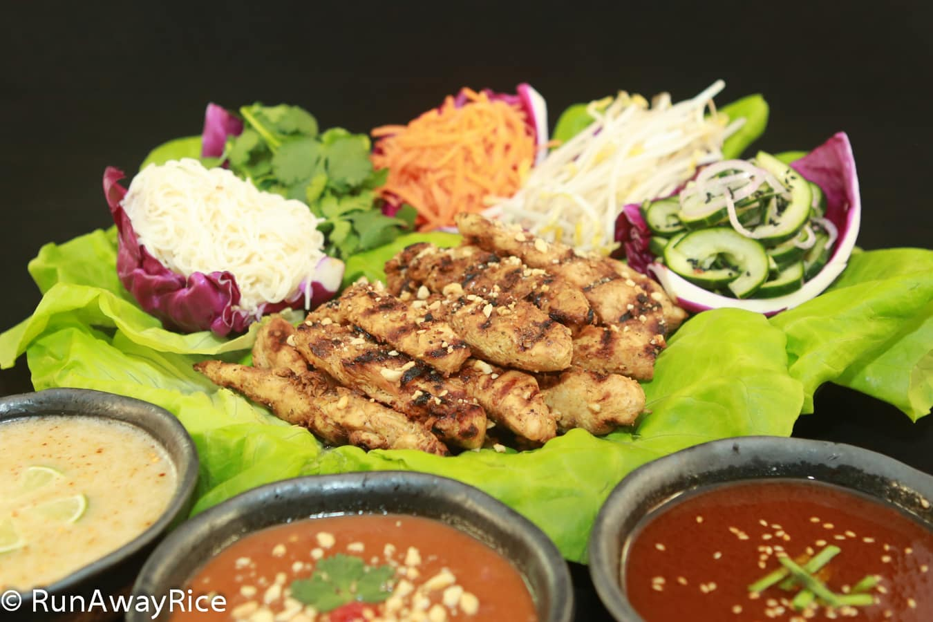 Grilled Chicken Lettuce Wraps Easy Recipe With Video Runawayrice