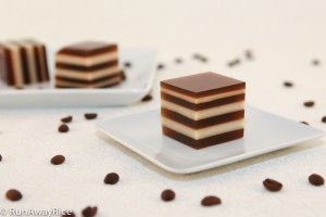Coffee and Cream Agar Jelly (Thach Ca Phe) - Sweet and Refreshing Jelly Dessert | recipe from runawayrice.com