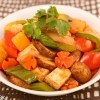 Sweet and Sour Tofu Stir Fry (Dau Hu Xao Sot Chua Ngot)