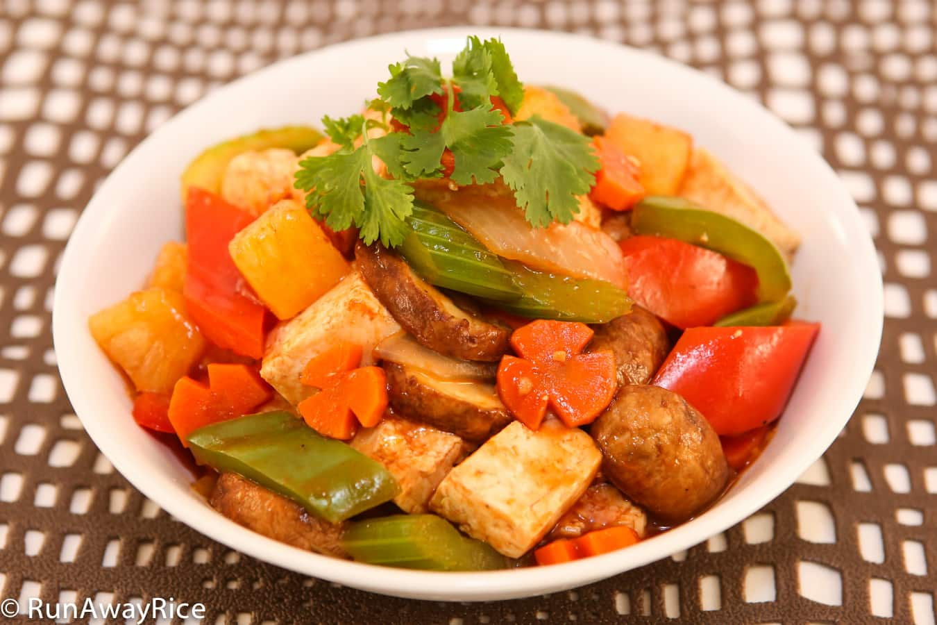 ... sweet and sour chicken i sweet and sour tofu vegetable stir fry recipe