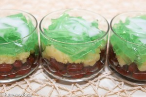 Three Color Dessert (Che Ba Mau) - Super Easy to Make and Super Delicious! | recipe from runawayrice.com