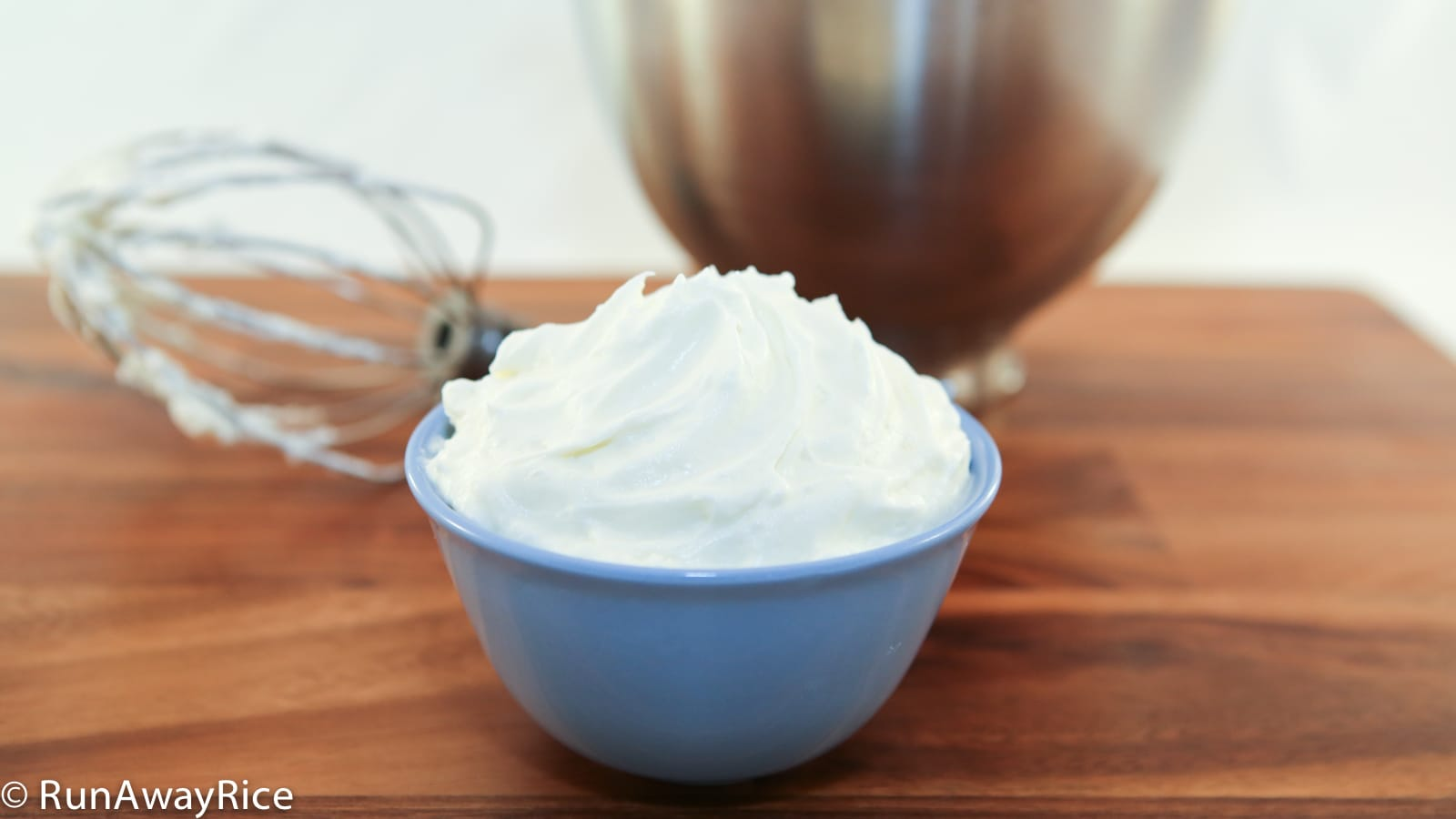 Whipped Cream Frosting Recipe — Dishmaps