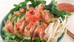 Grilled Shrimp (Bun Cha Gio Tom Nuong)