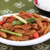 Seitan, fresh lemongrass and spicy curry powder makes this one fragrant and delicious meat-free dish!