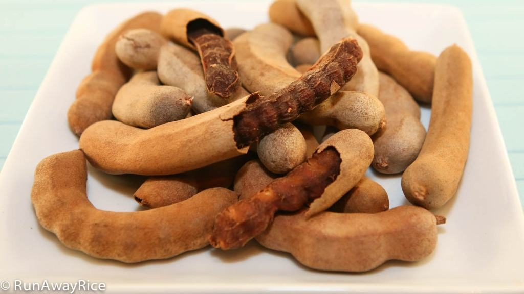 Dried Tamarind - this one of a kind fruit has a distinctly tart taste! | recipe from runawayrice.com