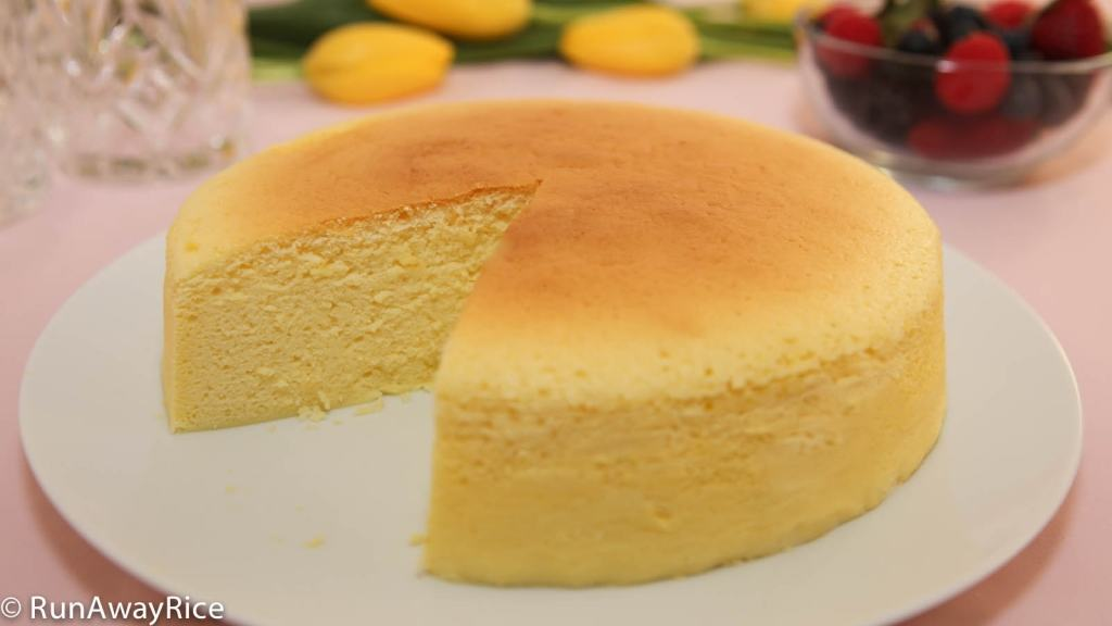 Fluffy Cheese Sponge Cake Recipe