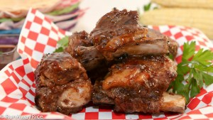 Sweet and Tangy--these ribs are mouth-watering!