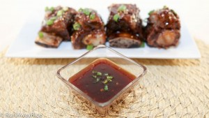 Hoisin Plum Sauce Glaze for Beef Short Ribs - simply amazing!