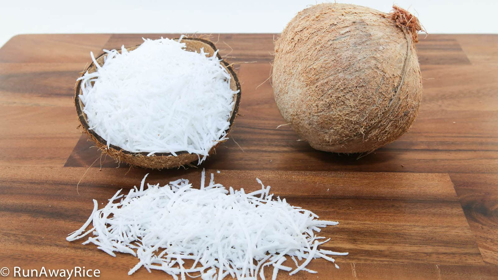 how to cook fresh coconut