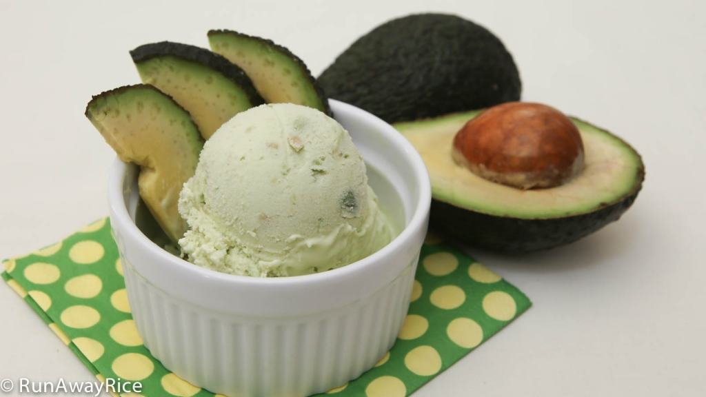 Ripe avocados make a delicious and unique addition to ice cream. This is a must-try recipe!
