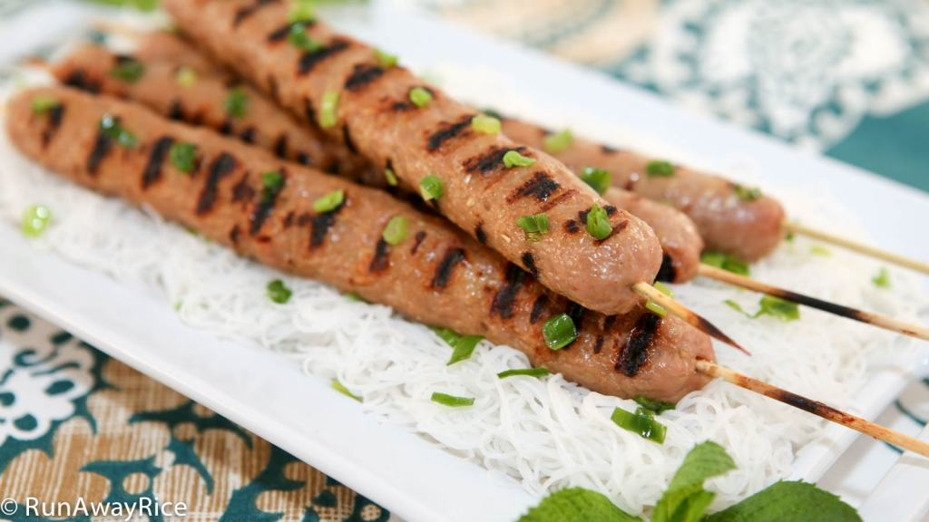 So easy to make these delicious Grilled Pork Sausages are perfect for summertime grilling!