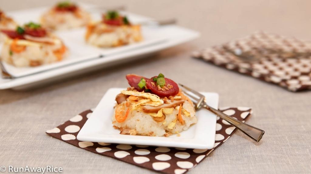 Sticky Savory Rice Appetizer