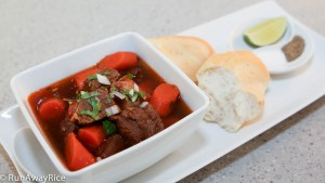 There's nothing better than a hearty bowl of Viet-style Beef Stew with some crusty French bread!