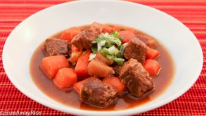 Full of aromatic spices and robust flavor, this Viet-style Beef Stew is belly-warming good!