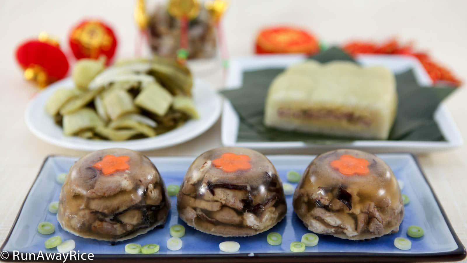 Jellied Pork (Thịt Đông)   RunAwayRice