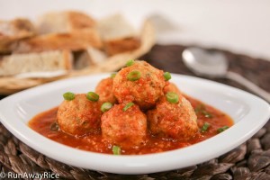 Serve these delcious Vietnamese meatballs with some hot and crusty bread for a quick meal. | runawayrice.com