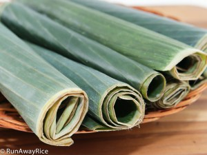 Essential steps for cleaning banana leaves before using in cooking | runawayrice.com