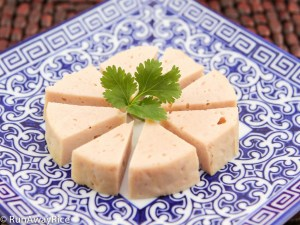 Steamed Pork Roll (Cha Lua) - No-fail recipe your family will love! | recipe from runawayrice.com