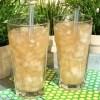 Jasmine Green Tea with Lychee Jelly | recipe from runawayrice.com