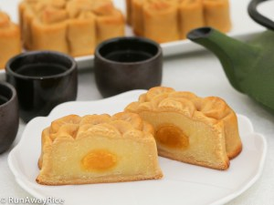 Better than store-bought! Wow your family and friends by making these Mooncakes with Salted Egg Yolks | runawayrice.com