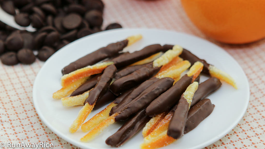 Candied Orange Peels (Mut Vo Cam) | RunAwayRice