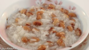 Rice Pudding with Black-Eyed Peas (Che Dau Trang) | recipe from runawayrice.com
