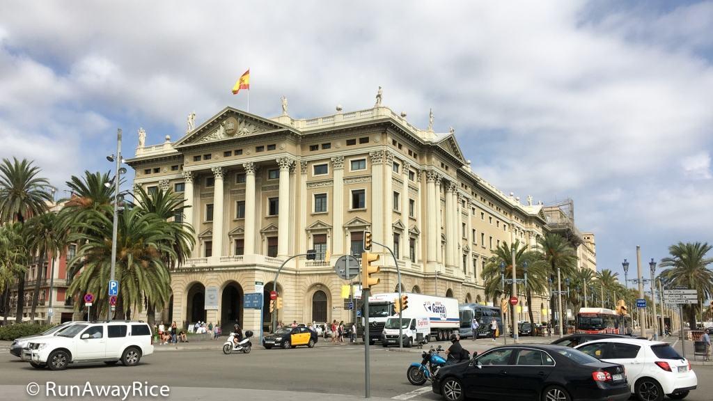 Placa Portal De La Pau, Barcelona, Catalonia, Spain | runawayrice.com