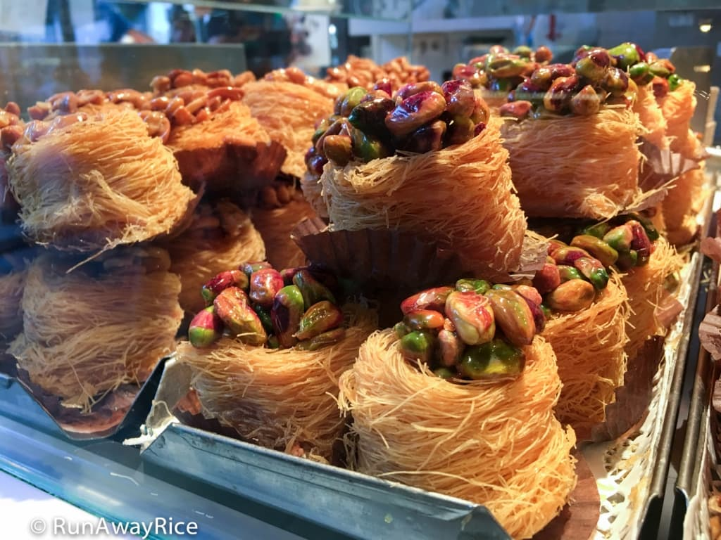 Mercado de San Miguel - Bird's Nest Pastry | runawayrice.com