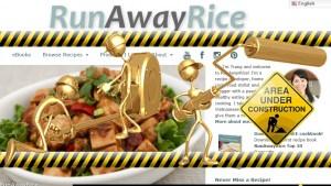 New Web Features   runawayrice.com