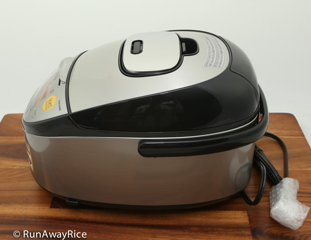 Tiger IH 5.5 Rice Cooker - Showing Right Side view | runawayrice.com
