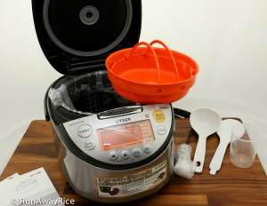 Tiger IH Rice Cooker - Unboxed and Unwrapped | runawayrice.com