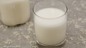Rice Milk - easy to make and super healthy | recipe from runawayrice.com