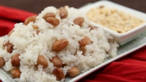 Sticky Rice and Peanuts (Xoi Dau Phong): No-Fail Rice Cooker Recipe | recipe from runawayrice.com