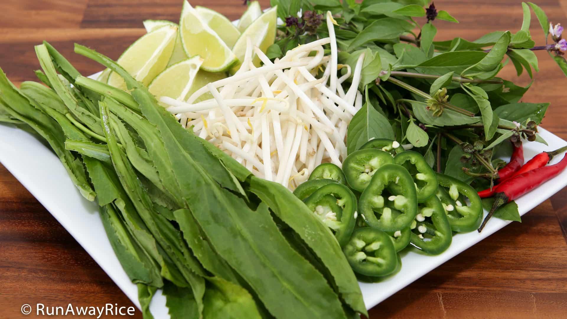 Beef Noodle Soup / Pho Bo