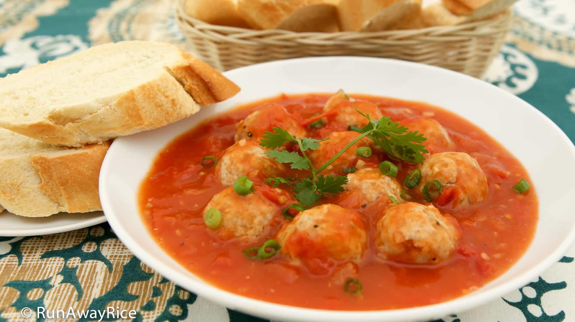Vietnamese Meatballs (Xiu Mai) - Easy Recipe with Video
