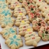 Holiday Butter Cookies (Banh Bo) - easy to make with the Oxo cookie press | recipe from runawayrice.com