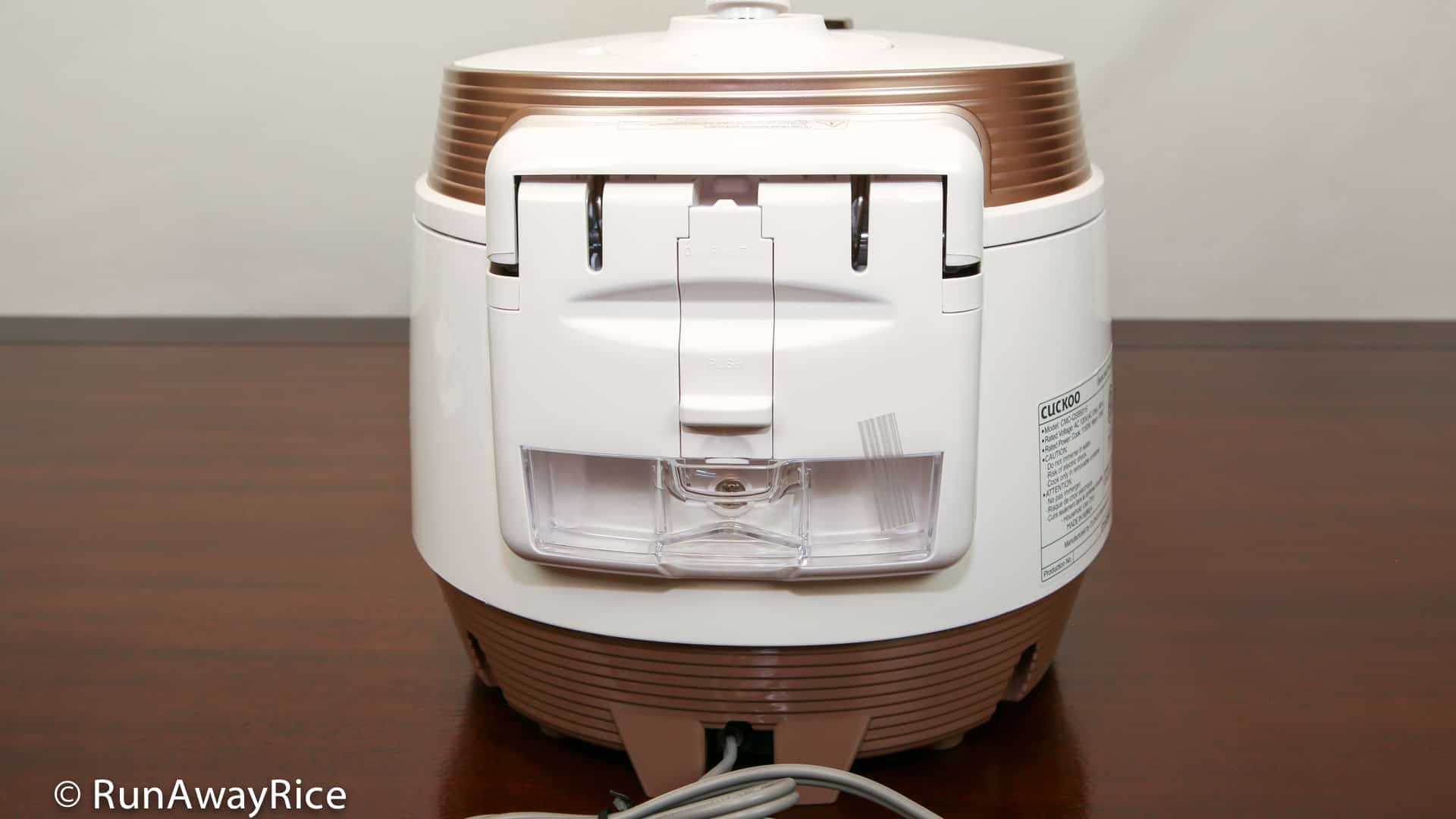 cuckoo rice cooker instructions