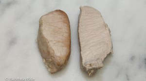 How To Keep Boiled Pork from Turning Brown - 60 Second Trick | from runawayrice.com