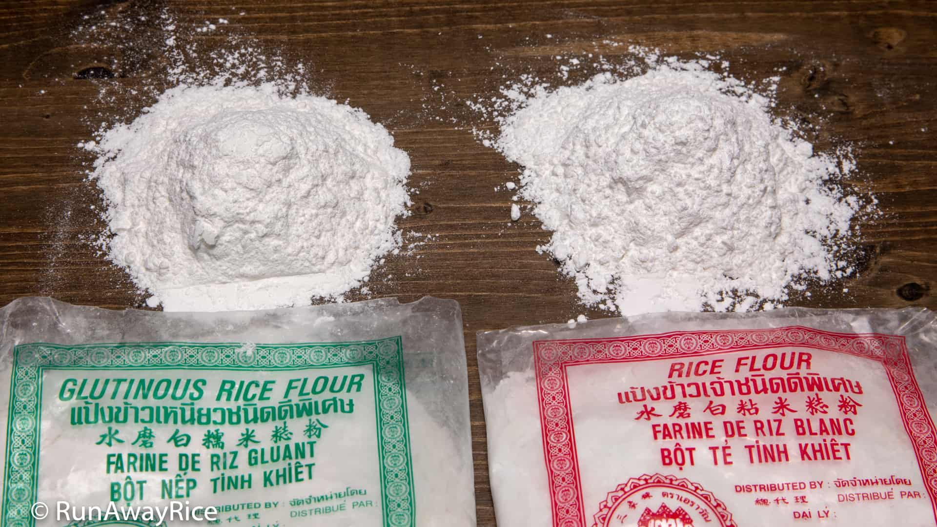 1 Cup Rice Flour And Glutinous Weigh About The Same Approximately 46 Ounces 130 Grams
