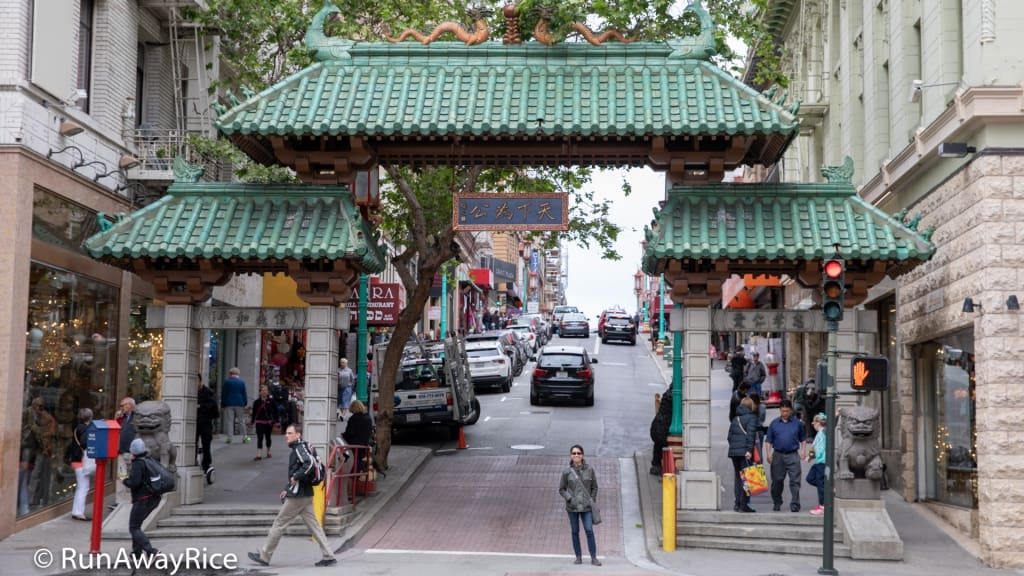 Chinatown, San Francisco - Dragon's Gate | runawayrice.com