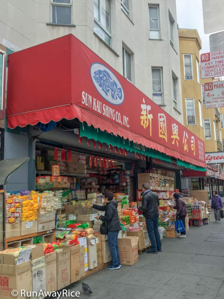 Chinatown, San Francisco - Sun Kau Shing Co Grocery Store | runawayrice.com