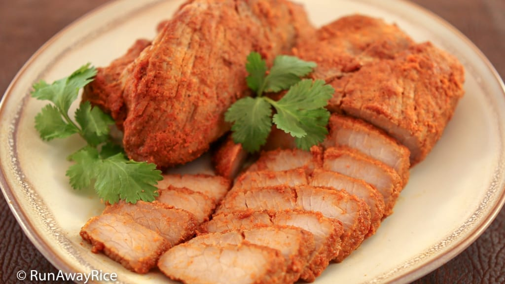 Roast Pork (Thit Xa Xiu) - Gluten-Free Homemade Marinade | recipe from runawayrice.com
