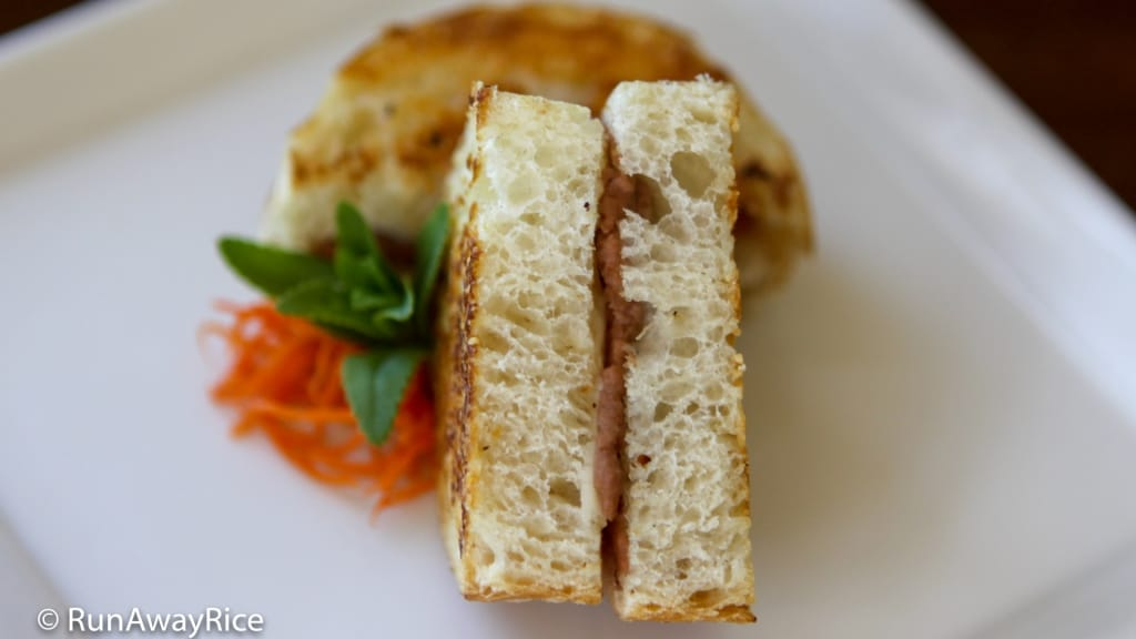Viet Grilled Cheese Sandwich - Grilled Cheese Elevated! | recipe from runawayrice.com