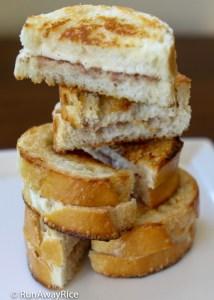 Viet Grilled Cheese Sandwich - Fusion Flavor Twist!   recipe from runawayrice.com