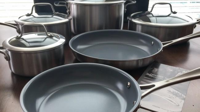 Zwilling Spirit Cookware Set - Ceramic Nonstick Coating 10-Piece Set   runawayrice.com