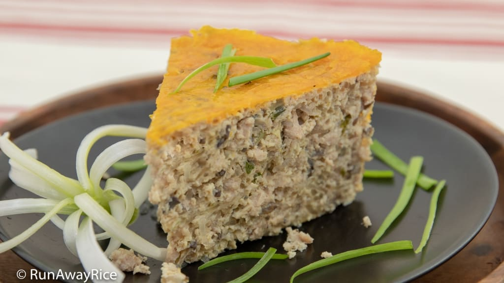Instant Pot Egg Meatloaf (Cha Trung) - Hearty and Delicious Pressure Cooker Recipe | recipe from runawayrice.com