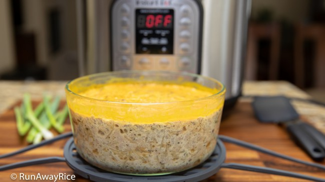 Instant Pot Egg Meatloaf (Cha Trung) - Quick and Easy Recipe   recipe from runawayrice.com