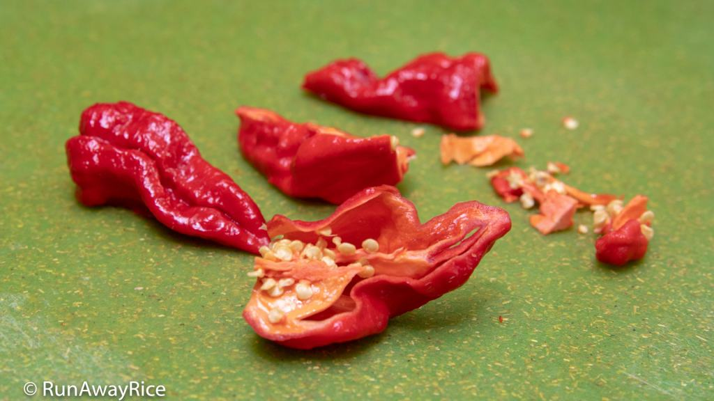 Ghost Pepper / Bhut Jolokia - Dare to Eat One of the Spiciest Peppers in the World? | runawayrice.com