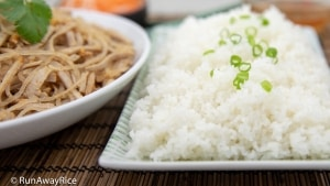 Shredded Pork Skin (Bi Heo) - Broken Rice Combo Plate | recipe from runawayrice.com